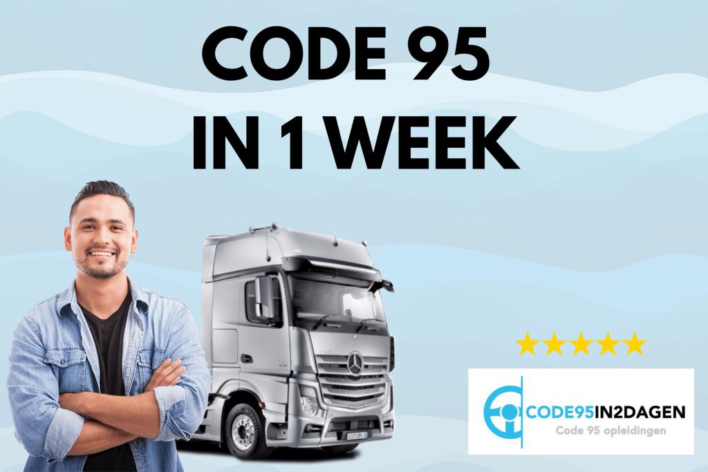 code 95 opleidingen